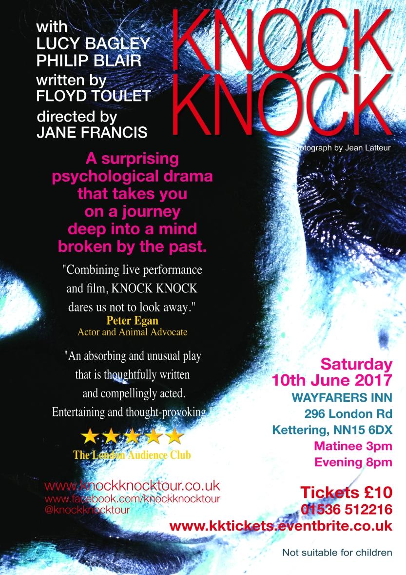 KNOCK KNOCK at The Wayfarers, Kettering